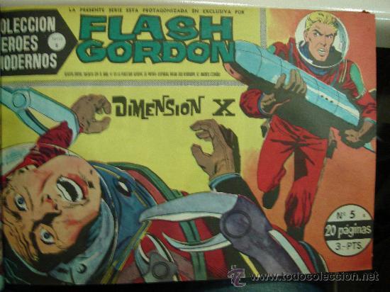 Tebeos: COMICS TEBEOS FLASH GORDON. COLECCION HEROES MODERNOS. SERIE B. 22 NUMEROS. - Foto 5 - 26114131