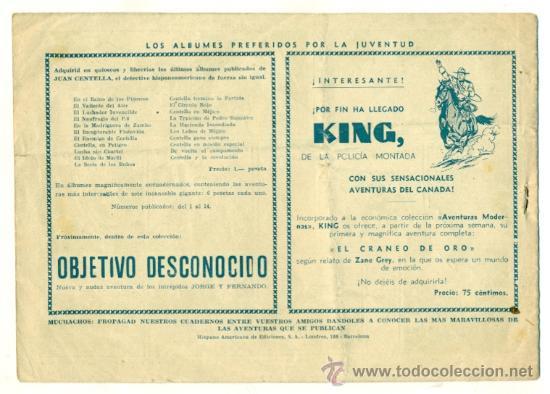 Tebeos: JUAN CENTELLA , LA EMBOSCADA DE QUERETARO - ORIGINAL DE HISPANO AMERICANA - Foto 2 - 25511605