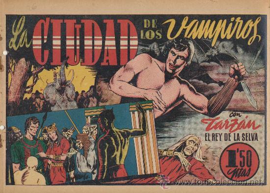 TARZÁN Nº 26. LA CIUDAD DE LOS VAMPIROS. (Tebeos y Comics - Hispano Americana - Tarzán)