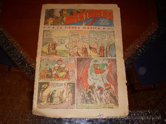 AVENTURERO Nº 59, 10 CTS, EDITORIAL HISPANO AMERICANA (Tebeos y Comics - Hispano Americana - Aventurero)
