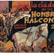 Tebeos: FLAS GORDON Nº 2. LA CIUDAD DE LOS HOMBRES HALCONES (24,5X34,5) HISPANO AMERICANA.CON CROMOS. Lote 23687671