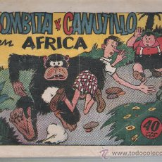 Tebeos: BOMBITA Y CANUTILLO EN AFRICA. I.G.A. HISPANO AMERICANA 1943.. Lote 23724930