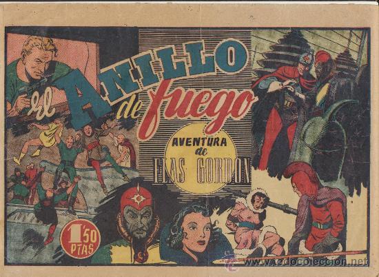 FLAS GORDON. EL ANILLO DE FUEGO. (Tebeos y Comics - Hispano Americana - Flash Gordon)