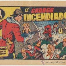 Tebeos: KING DE LA POLICIA MONTADA Nº 5. EL GARAJE INCENDIADO. HISPANO AMERICANA 1956.. Lote 23776007