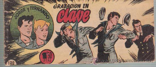 JORGE Y FERNANDO Nº 138. (Tebeos y Comics - Hispano Americana - Jorge y Fernando)