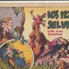 Tebeos: FLAS GORDON. LOS HOMBRES SELVÁTICOS. HISPANO AMERICANA. G.A.E.. Lote 23870756