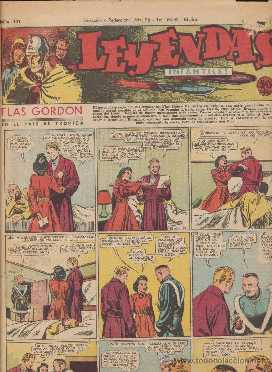 LEYENDAS INFANTILES. Nº 107 (Tebeos y Comics - Hispano Americana - Leyendas Infantiles)