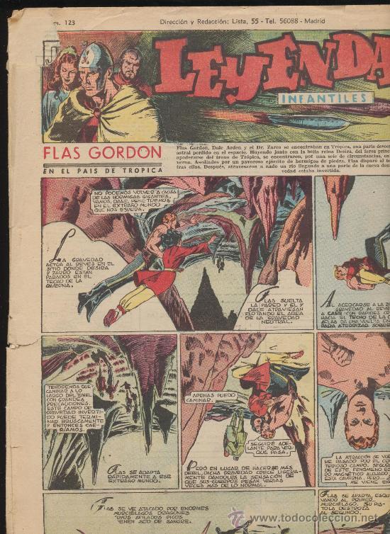 LEYENDAS INFANTILES Nº 123. HISPANO AMERICANA 1944. (Tebeos y Comics - Hispano Americana - Leyendas Infantiles)