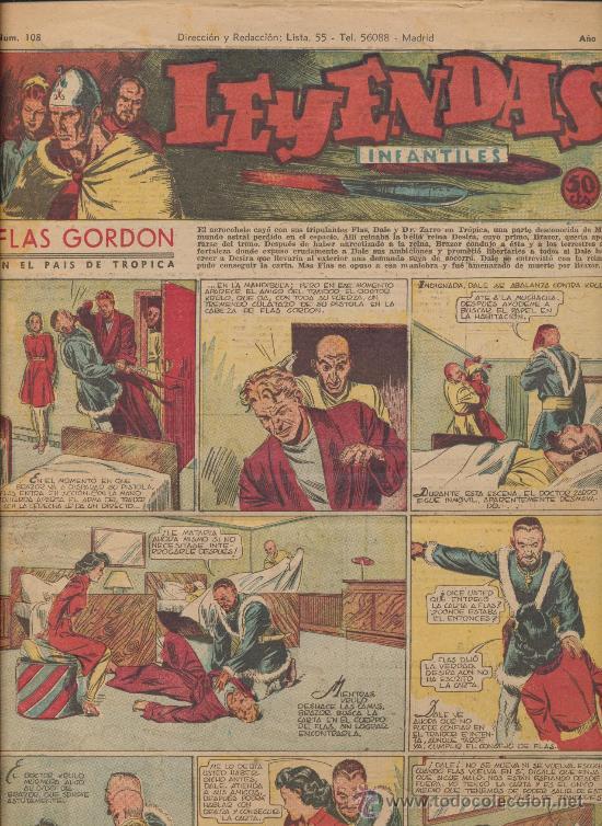 LEYENDAS INFANTILES Nº 108. HISPANO AMERICANA 1944. (Tebeos y Comics - Hispano Americana - Leyendas Infantiles)