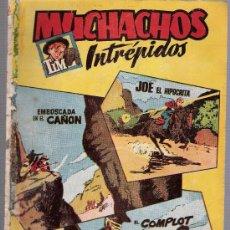 Tebeos: MUCHACHOS INTRÉPIDOS Nº 14. HISPANO AMERICANA 1957.. Lote 24417273