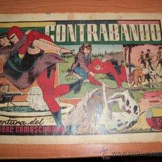 Tebeos: EL HOMBRE ENMASCARADO Nº 39 CONTRABANDO HISPANO AMERICANA 1941. Lote 26014407