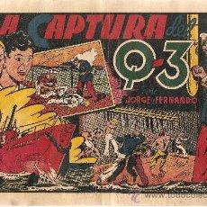 Tebeos: JORGE Y FERNANDO LA CAPTURA DEL Q-3. Lote 25988552