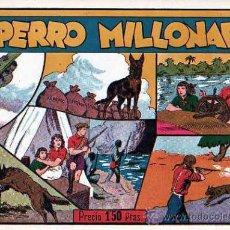 Tebeos: COMIC ORIGINAL JUAN Y LUIS Nº 4 EL PERRO MILLONARIO. Lote 24795591