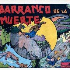 Tebeos: COMIC ORIGINAL JUAN Y LUIS Nº 6 EL BARRANCO DE LA MUERTE. Lote 24795619
