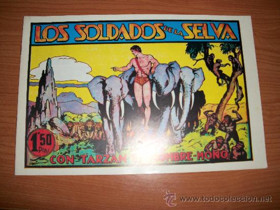 TARZAN Nº 9 HISPANO AMERICANA EDICION FACSIMIL (Tebeos y Comics - Hispano Americana - Tarzán)