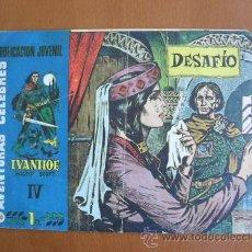 Tebeos: AVENTURAS CELEBRES Nº 64 IVANHOE -- HISPANO AMERICANA -- ORIGINAL. Lote 27165183