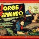 Tebeos: JORGE Y FERNANDO Nº 2 , TAPA DURA , FORMATO PEQUEÑO , HISPANO AMERICANA , ORIGINAL , C29. Lote 27236640