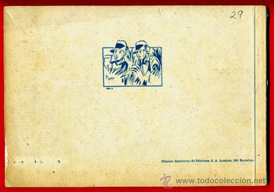 Tebeos: JORGE Y FERNANDO Nº 2 , TAPA DURA , FORMATO PEQUEÑO , HISPANO AMERICANA , ORIGINAL , C29 - Foto 2 - 27236640