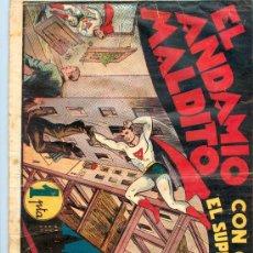 Tebeos: CICLÓN EL ANDAMIO MALDITO. Lote 27775491