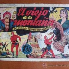 Tebeos: EL HOMBRE ENMASCARADO Nº 27 - EL VIEJO DE LA MONTAÑA * ORIGINAL EPOCA. Lote 28179223