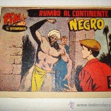 Tebeos: PIN EL TROTAMUNDOS Nº 14 DE HISPANO AMERICANA ORIGINAL . AÑO 1956.. Lote 28231947