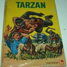 Tebeos: TARZAN - TLE FHER - 1968 - TEXTO CON DIBUJOS . TAPA DURA. Lote 28601480