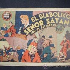 Tebeos: EL DIABOLICO SEÑOR SATAN CON EL PELIRROJO - Nº 3 - HISPANO AMERICANA - EXCELENTE ESTADO. Lote 28734172