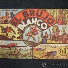Tebeos: JORGE Y FERNANDO - Nº 5 - EL BRUJO BLANCO - HISPANO AMERICANA - . Lote 28734352