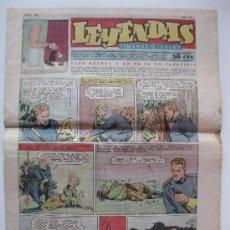 LEYENDAS - SEMANARIO JUVENIL - Nº 166 - HISPANO AMERICANA - ORIGINAL - AÑO 1937.