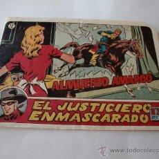 Tebeos: JUSTICIERO ENMASCARADO Nº 12 ORIGINAL. Lote 29809108