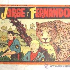 Tebeos: ALBUM Nº 3 JORGE Y FERNANDO. HISPANO AMERICANA. Lote 29940939