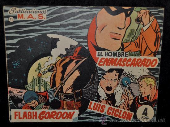 ANTIGUO COMIC FLASH GORDON, NUM 11. (Tebeos y Comics - Hispano Americana - Flash Gordon)