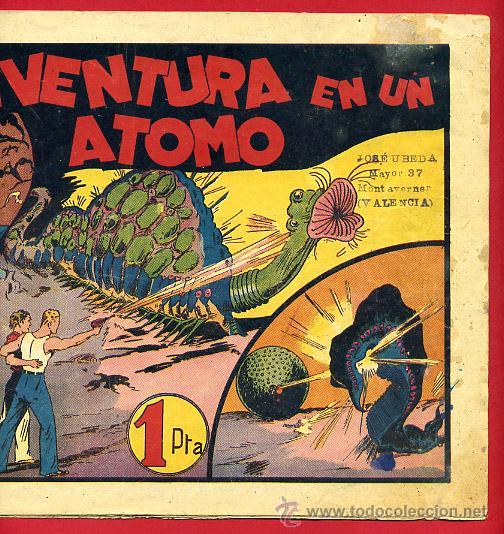 Tebeos: CARLOS EL INTREPIDO, UNA AVENTURA EN UN ATOMO ,ORIGINAL , C64 - Foto 3 - 30263772