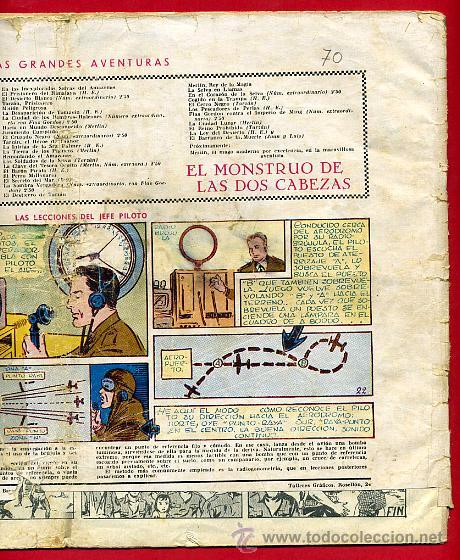 Tebeos: JORGE Y FERNANDO, CONTRA LOS HALCONES 25 X 34 , HISPANO AMERICANA ,ORIGINAL , C70 - Foto 4 - 30264057