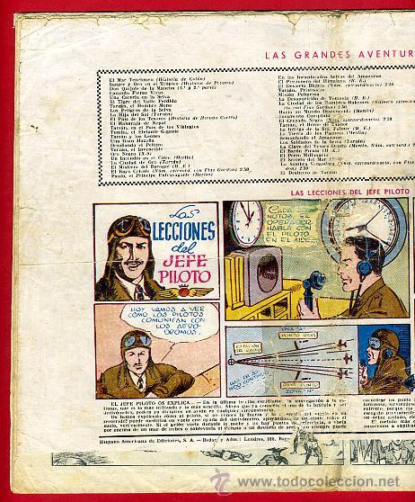Tebeos: JORGE Y FERNANDO, CONTRA LOS HALCONES 25 X 34 , HISPANO AMERICANA ,ORIGINAL , C70 - Foto 5 - 30264057