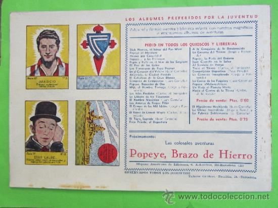 Tebeos: maria cortes y la doctora alden 1942 , n.4 perdidos en el espacio ,hispano americana , como nuevo - Foto 2 - 30810266