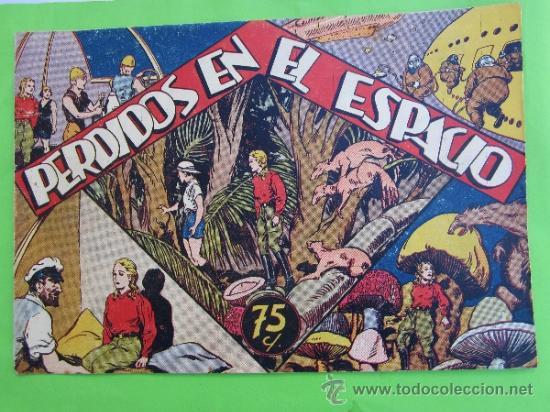 MARIA CORTES Y LA DOCTORA ALDEN 1942 , N.4 PERDIDOS EN EL ESPACIO ,HISPANO AMERICANA , COMO NUEVO (Tebeos y Comics - Hispano Americana - Otros)