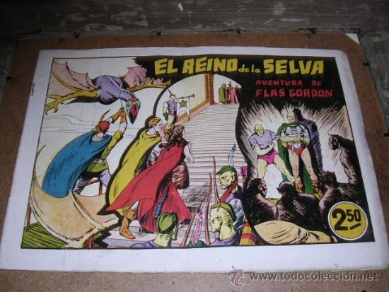 FLASH GORDON - AVENTURAS DE FLAS GORDON NUM. 8, EDT HISPANO AMERICANA (Tebeos y Comics - Hispano Americana - Flash Gordon)
