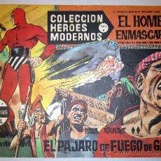 Tebeos: 1958 EL HOMBRE ENMASCARADO NUMERO 18 A - COLECCION HEROES MODERNOS. Lote 31576179