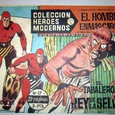 Tebeos: 1958 EL HOMBRE ENMASCARADO NUMERO 17 A - COLECCION HEROES MODERNOS. Lote 31576191