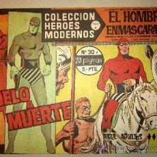 Tebeos: 1958 EL HOMBRE ENMASCARADO NUMERO 30 A - COLECCION HEROES MODERNOS. Lote 31576251