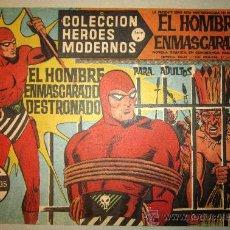 Tebeos: 1958 EL HOMBRE ENMASCARADO NUMERO 29 A - COLECCION HEROES MODERNOS. Lote 31576262