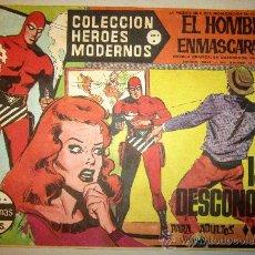 Tebeos: 1958 EL HOMBRE ENMASCARADO NUMERO 26 A - COLECCION HEROES MODERNOS. Lote 31576294