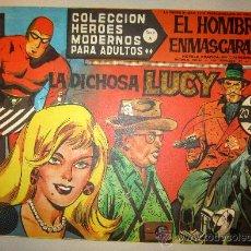 Tebeos: 1958 EL HOMBRE ENMASCARADO NUMERO 41 A - COLECCION HEROES MODERNOS. Lote 31576642