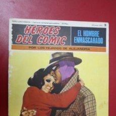 Tebeos: COMIC: EL HOMBRE ENMASCARADO, COLECC. HÉROES DEL CÓMIC Nº 9, 1971. Lote 31611480