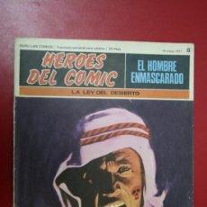 Tebeos: COMIC: EL HOMBRE ENMASCARADO, COLECC. HÉROES DEL CÓMIC Nº 8, 1971. Lote 31611492