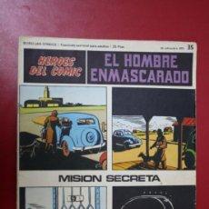 Tebeos: COMIC: EL HOMBRE ENMASCARADO, COLECC. HÉROES DEL CÓMIC Nº 35, 1971. Lote 31611507