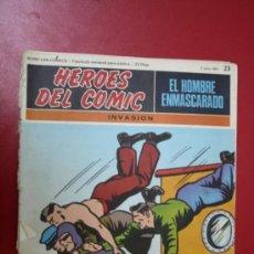 Tebeos: COMIC: EL HOMBRE ENMASCARADO, COLECC. HEROES DEL COMIC Nº 23, 1971. Lote 31611600