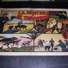 Tebeos: JORGE Y FERNANDO NUM 31 LA PANTERA Y EL TRAMPERO, EDT HISPANO AMERICANA, ORIGINAL. Lote 32085325