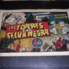 Tebeos: JORGE Y FERNANDO NUM 44 LAS TORRES DE LA SELVA NEGRA, EDT HISPANO AMERICANA, ORIGINAL. Lote 32086021